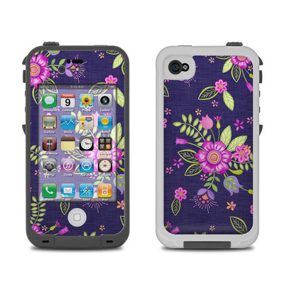 Lifeproof iPhone 4 Case Skin - Folk Floral