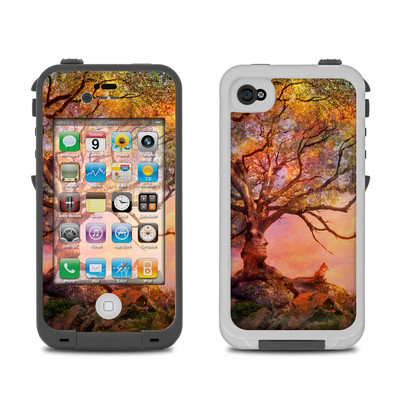 Lifeproof iPhone 4 Case Skin - Fox Sunset