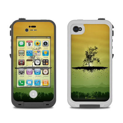 Lifeproof iPhone 4 Case Skin - Flying Tree Amber