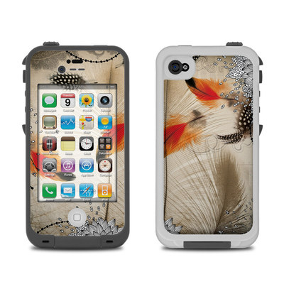 Lifeproof iPhone 4 Case Skin - Feather Dance