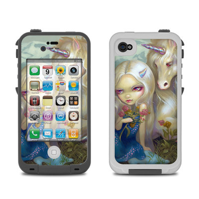 Lifeproof iPhone 4 Case Skin - Fiona Unicorn
