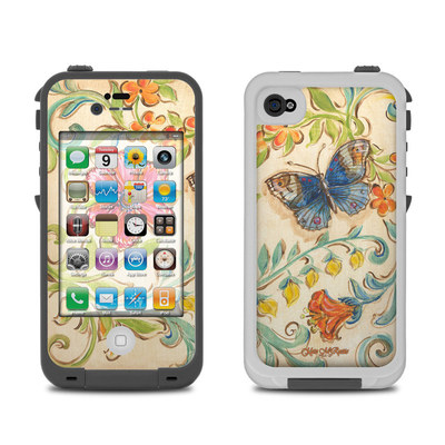 Lifeproof iPhone 4 Case Skin - Garden Scroll