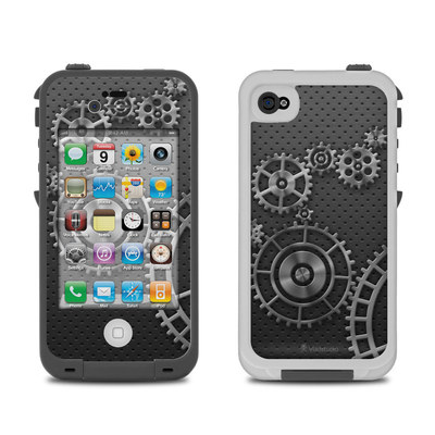 Lifeproof iPhone 4 Case Skin - Gear Wheel