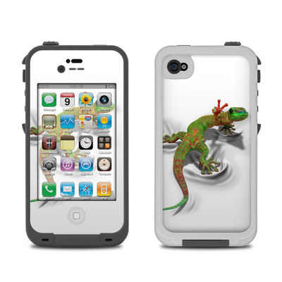 Lifeproof iPhone 4 Case Skin - Gecko