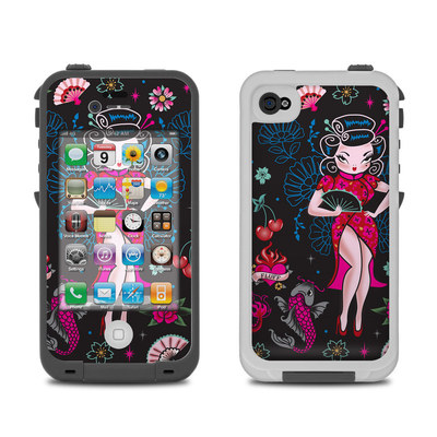 Lifeproof iPhone 4 Case Skin - Geisha Gal