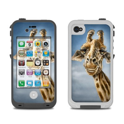 Lifeproof iPhone 4 Case Skin - Giraffe Totem