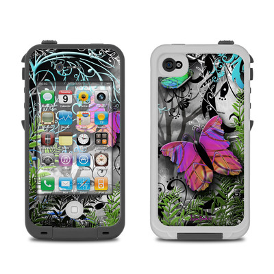 Lifeproof iPhone 4 Case Skin - Goth Forest