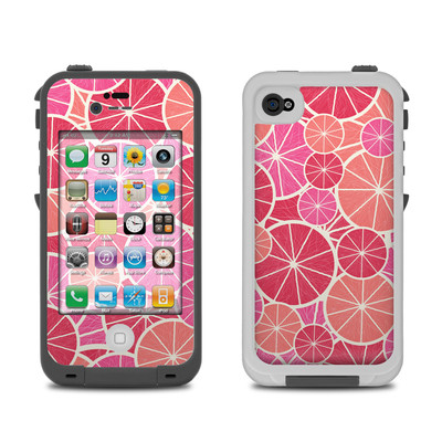 Lifeproof iPhone 4 Case Skin - Grapefruit
