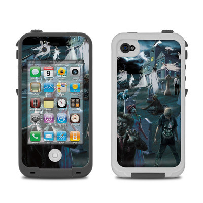 Lifeproof iPhone 4 Case Skin - Graveyard