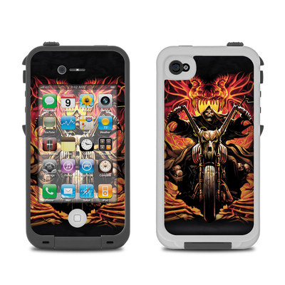 Lifeproof iPhone 4 Case Skin - Grim Rider