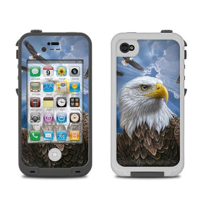 Lifeproof iPhone 4 Case Skin - Guardian Eagle