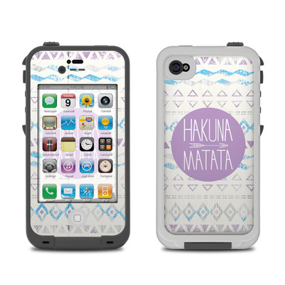 Lifeproof iPhone 4 Case Skin - Hakuna Matata
