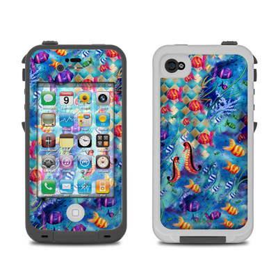 Lifeproof iPhone 4 Case Skin - Harlequin Seascape