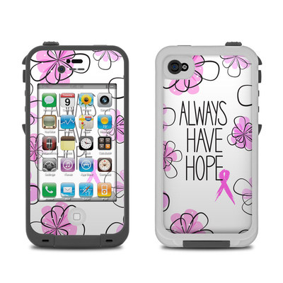 Lifeproof iPhone 4 Case Skin - Always Have Hope