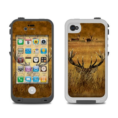 Lifeproof iPhone 4 Case Skin - Hiding Buck