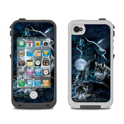 Lifeproof iPhone 4 Case Skin - Howling