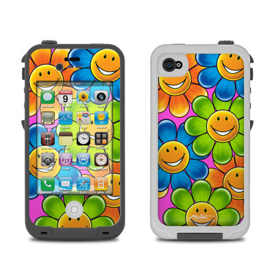 Lifeproof iPhone 4 Case Skin - Happy Daisies