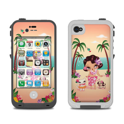 Lifeproof iPhone 4 Case Skin - Hula Lulu