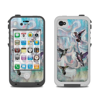 Lifeproof iPhone 4 Case Skin - Hummingbirds