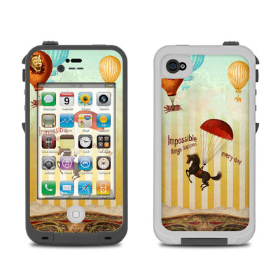 Lifeproof iPhone 4 Case Skin - Impossible