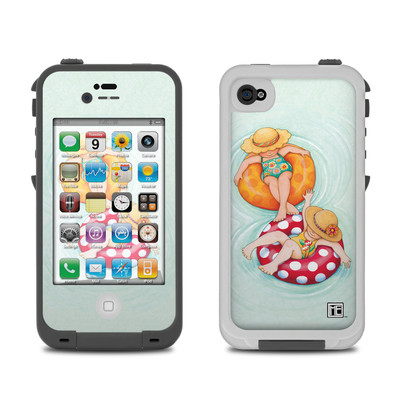 Lifeproof iPhone 4 Case Skin - Inner Tube Girls