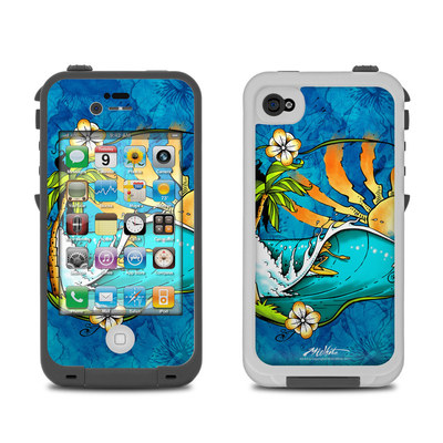 Lifeproof iPhone 4 Case Skin - Island Playground
