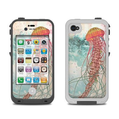 Lifeproof iPhone 4 Case Skin - Jellyfish