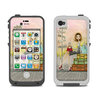Lifeproof iPhone 4 Case Skin - The Jet Setter
