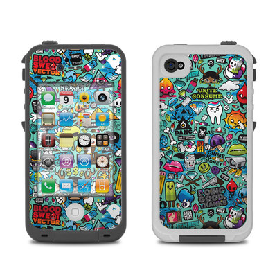 Lifeproof iPhone 4 Case Skin - Jewel Thief