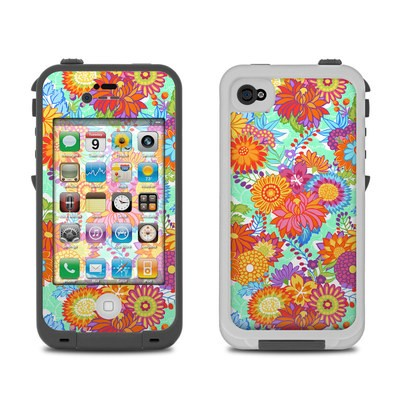 Lifeproof iPhone 4 Case Skin - Jubilee Blooms