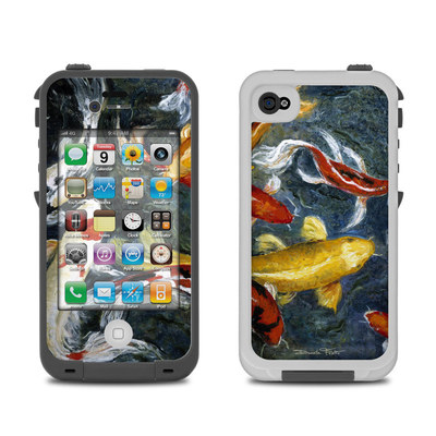 Lifeproof iPhone 4 Case Skin - Koi's Happiness