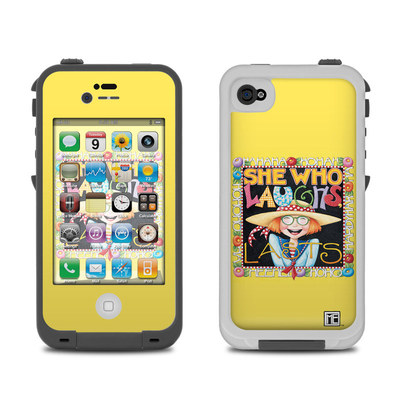 Lifeproof iPhone 4 Case Skin - She Who Laughs