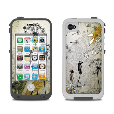 Lifeproof iPhone 4 Case Skin - Little Dandelion