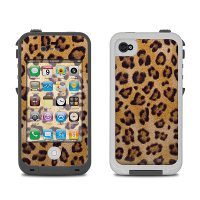 Lifeproof iPhone 4 Case Skin - Leopard Spots