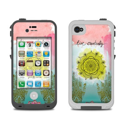 Lifeproof iPhone 4 Case Skin - Live Creative