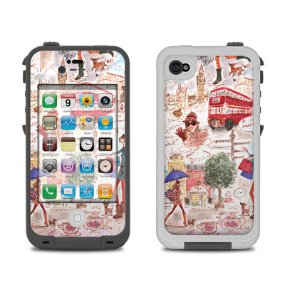 Lifeproof iPhone 4 Case Skin - London