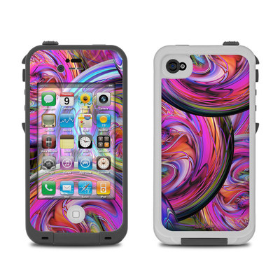 Lifeproof iPhone 4 Case Skin - Marbles