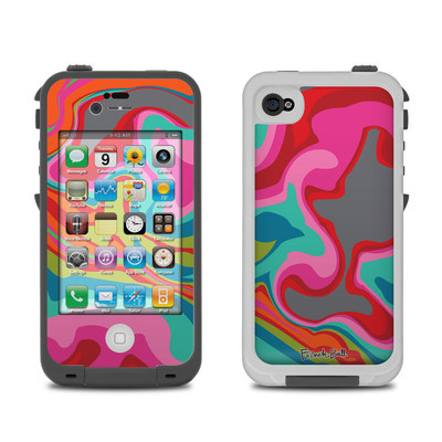 Lifeproof iPhone 4 Case Skin - Marble Bright