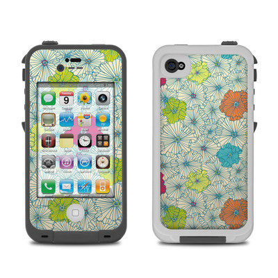 Lifeproof iPhone 4 Case Skin - May Flowers
