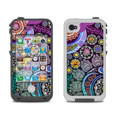 Lifeproof iPhone 4 Case Skin - Mehndi Garden