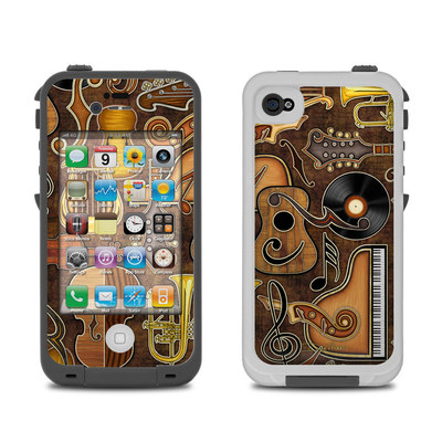 Lifeproof iPhone 4 Case Skin - Music Elements