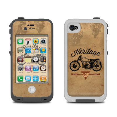 Lifeproof iPhone 4 Case Skin - MotoGP Heritage