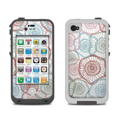 Lifeproof iPhone 4 Case Skin - Micro Flowers