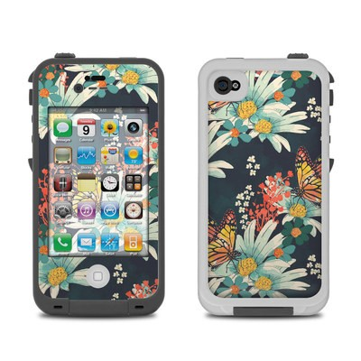Lifeproof iPhone 4 Case Skin - Monarch Grove