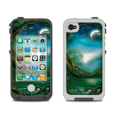 Lifeproof iPhone 4 Case Skin - Moon Tree