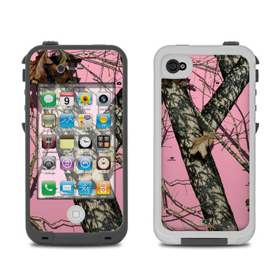 Lifeproof iPhone 4 Case Skin - Break-Up Pink