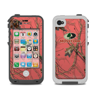 Lifeproof iPhone 4 Case Skin - Break-Up Lifestyles Salmon