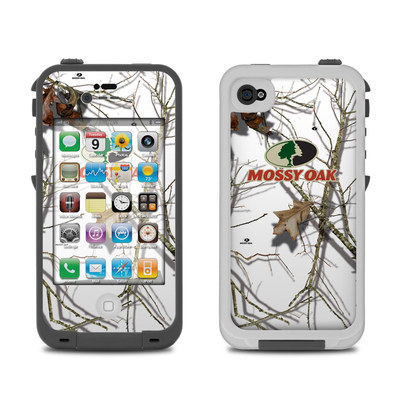 Lifeproof iPhone 4 Case Skin - Break-Up Lifestyles Snow Drift