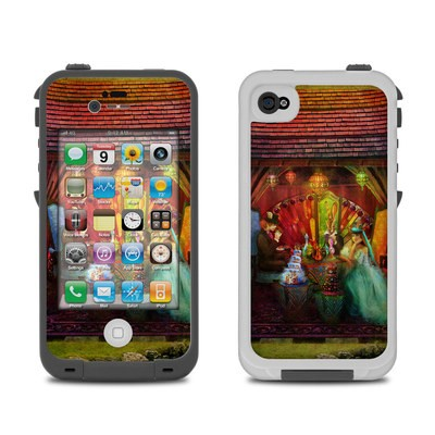 Lifeproof iPhone 4 Case Skin - A Mad Tea Party