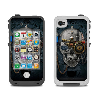 Lifeproof iPhone 4 Case Skin - Necronaut